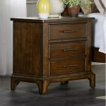 Cherry Brown Classic Nightstand – Mill Creek