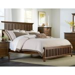 Cherry Brown Classic Queen Bed – Mill Creek