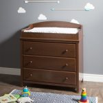 Cherry Changing Table with Drawers – Cotton Candy