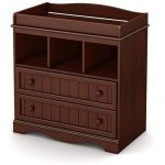 Cherry Changing Table with Drawers – Savannah