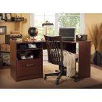 Cherry Corner Computer Desk – Cabot