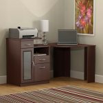 Cherry Corner Home Office Computer Desk – Vantage