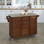 Cherry/Gray Kitchen Create-a-Cart