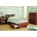 Cherry Twin Mates Bed – Summer Breeze