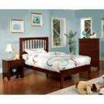 Cherry Twin Platform Bed – Villa