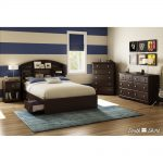 Chocolate 6-Drawer Double Dresser – Morning Dew
