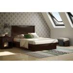 Chocolate Full Size Platform Bed (54 Inch) – Basic