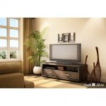 Chocolate TV Stand – Skyline