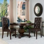 Chocolate Tufted Parsons Chairs (Set of 2) – Berkley