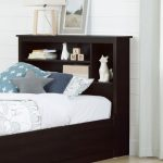Chocolate Twin Bookcase Headboard (39 Inch) – Vito