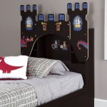 Chocolate Twin Bookcase Headboard – Vito