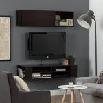 Chocolate Wall Mounted TV Stand and Storage Unit (48 Inch) – City Life