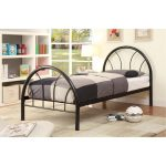 Clarkson Black Metal Twin Bed