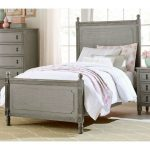 Classic Antique Gray Twin Bed – Aviana