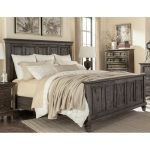 Classic Charcoal Gray Queen Size Bed – Calistoga