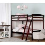 Classic Cherry Twin-over-Twin Bunk Bed – Taylor