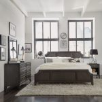 Classic Contemporary Gray 6-Piece King Bedroom Set – 5th Avenue