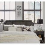 Classic Contemporary Gray King Headboard – 5th Avenue