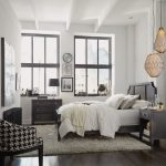 Classic Contemporary Gray Queen Bed, Nightstand & Chest – 5th Avenue
