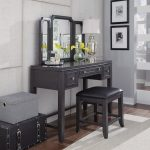 Classic Contemporary Gray Vanity Set – 5th Avenue