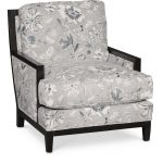 Classic Denim Floral Accent Chair – Quincy