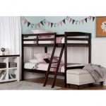 Classic Espresso Twin-over-Twin Bunk Bed – Taylor