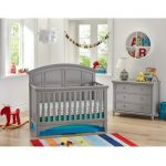 Classic Gray 4-in-1 Convertible Crib – Brooklyn