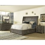 Classic Gray-Brown 6-Piece King Bedroom Set – Beckham