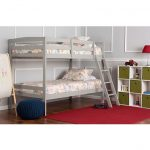 Classic Gray Twin-over-Twin Bunk Bed – Taylor
