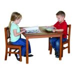 Classic Mission Kids Table & Chairs Set