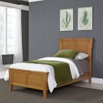 Classic Mission Oak Twin Bed – Arts & Crafts