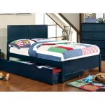 Classic Navy Blue Full Size Bed – Prismo