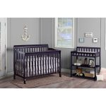 Classic Navy Convertible 5-in-1 Crib – Ashton