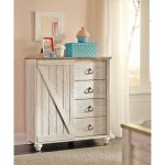 Classic Rustic Whitewashed Dressing Chest – Millhaven
