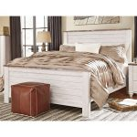 Classic Rustic Whitewashed King Bed – Millhaven