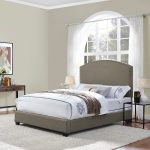 Classic Shadow Gray King Upholstered Bed – Cassie