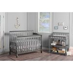 Classic Storm Gray Convertible 5-in-1 Crib – Ashton