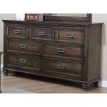 Classic Traditional Antique Brown Dresser – Campbell