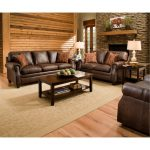 Classic Traditional Brown Sofa & Loveseat Set – Shiloh