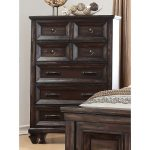 Classic Traditional Walnut Brown Chest of Drawers – Sevilla