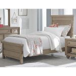 Classic Weathered Gray Twin Bed – Heather
