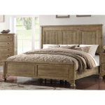Classic Weathered Pine King Size Bed – Interlude II