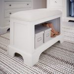 Classic White Storage Bench – Naples