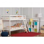 Classic White Twin-over-Twin Bunk Bed – Taylor