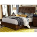 Coffee Brown Classic Traditional Queen Size Bed – Trisha Yearwood