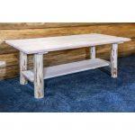 Coffee Table with Shelf – Montana