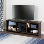 Contemporary 72 Inch Espresso Brown TV Stand – Sonoma
