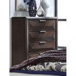 Contemporary Cappuccino Brown Chest of Drawers – Newland