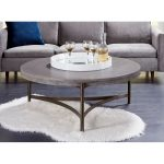 Contemporary Concrete Coffee Table – Magnum