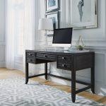 Contemporary Gray Writing Desk – 5th Avenue